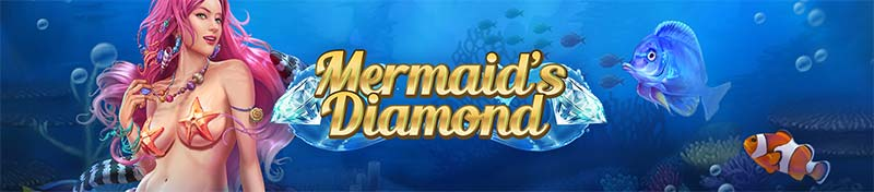 Mermaid's Diamond Slot Logo