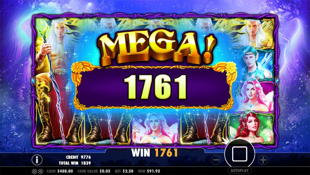 Pixie Wings Slot - Mega Win