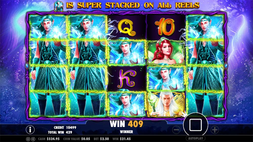 Pixie Wings Slot - Super Stacked Symbols