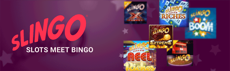 Slingo Casino Header