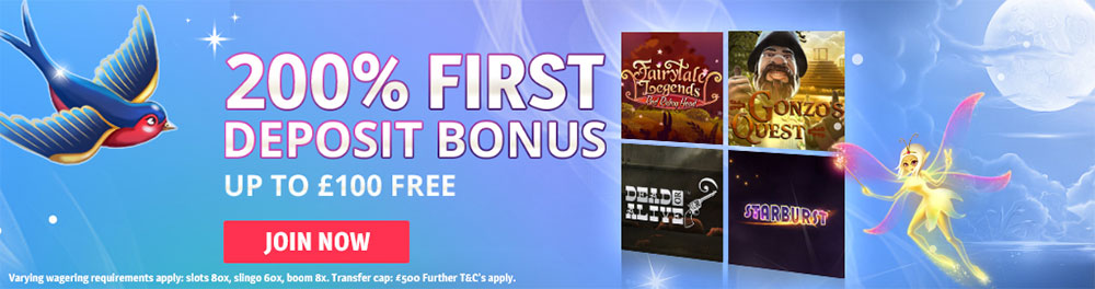 Spin Genie Casino - Welcome Bonuses