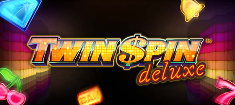 Twin Spin Deluxe Slot Logo