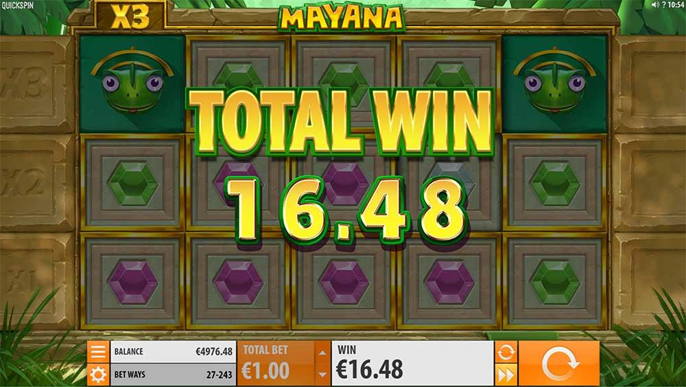 Mayana Slot - Expanded Reels