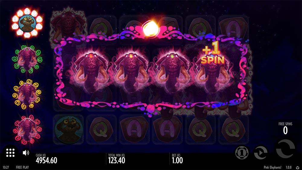 Pink Elephants Slot - Symbol Upgrades