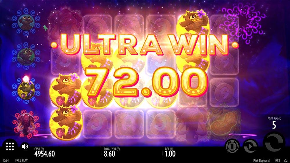 Pink Elephants Slot - Ultra Win