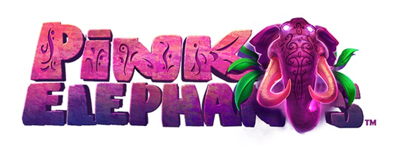 Pink Elephants Slot Logo