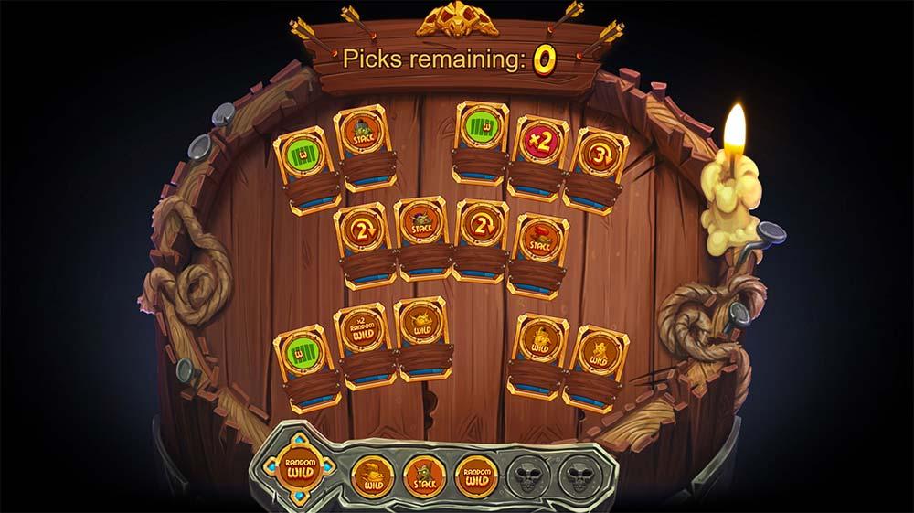 Trolls Bridge Slot - Picking Round