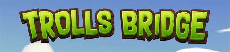 Trolls Bridge Slot Logo