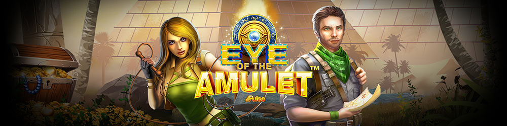Eye of the Amulet Slot Logo