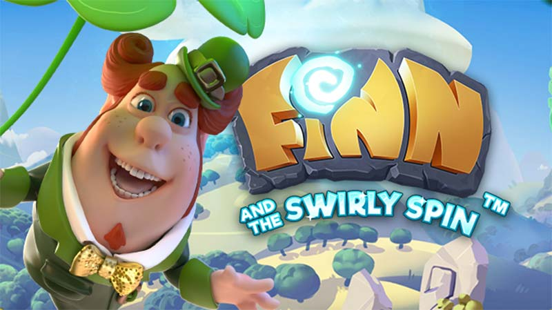 Finn and the Swirly Spin Logo