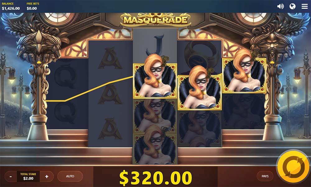 Masquerade Slot - Highest Paying Symbol Win