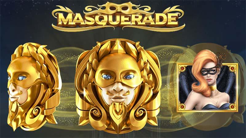 Masquerade Slot Logo