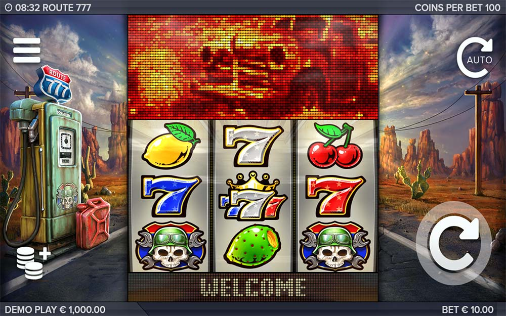 Route 777 Slot - Base Game