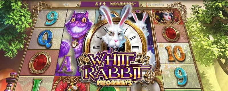 White Rabbit Slot Logo