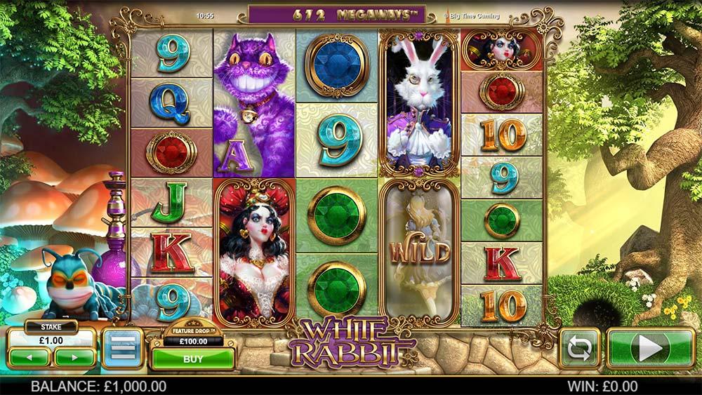 White Rabbit Slot - Base Game