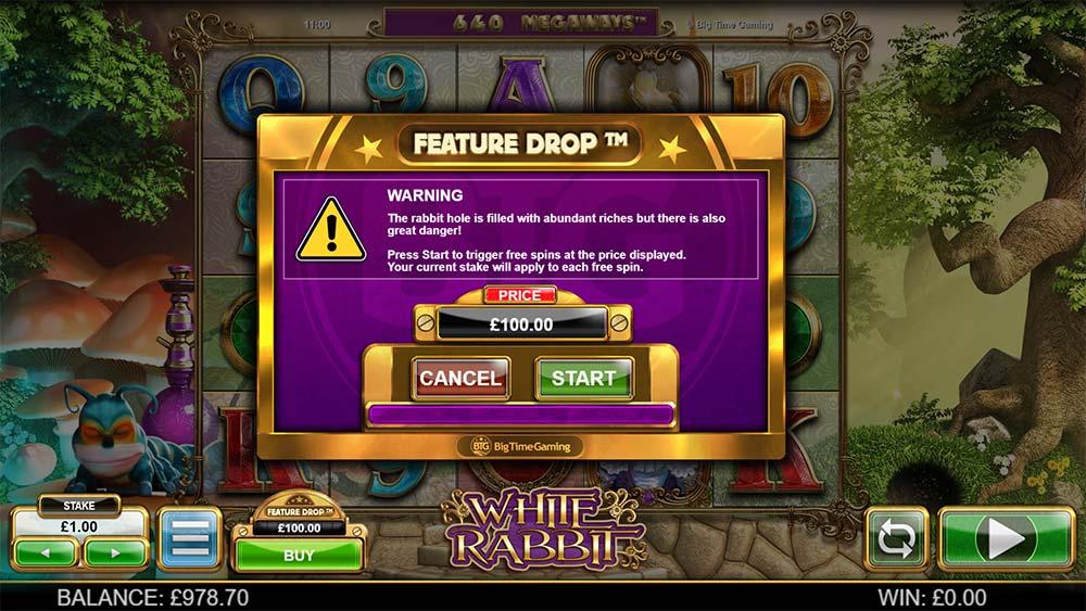 White Rabbit Slot - Feature Drop