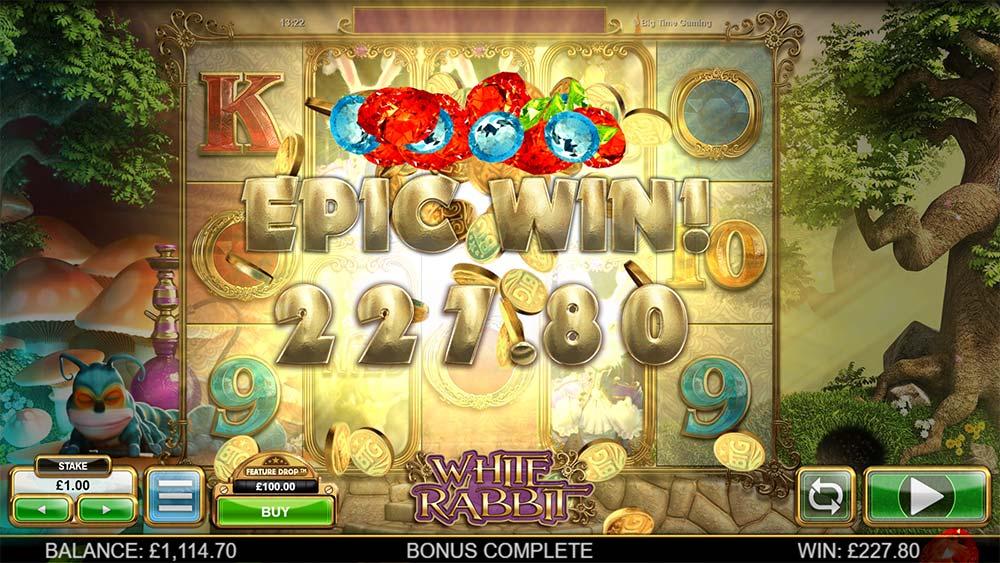 White Rabbit Slot - Epic Win