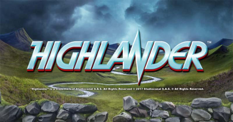 Highlander Online Slot Logo