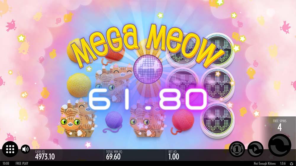 Not Enough Kittens Slot - Mega Meow Win