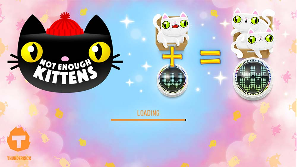 Not Enough Kittens Slot - Loading Screen