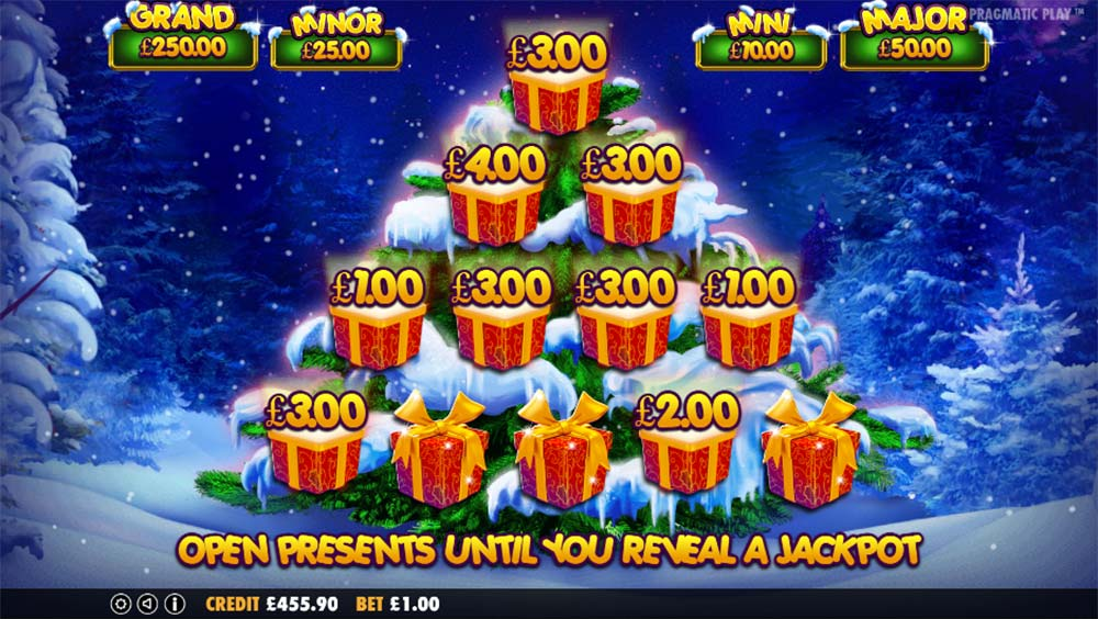 Santa Slot - Bonus Picking Round