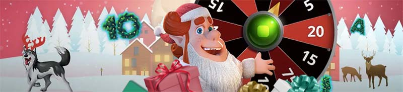 Santa's Secret Sack Extra Spins Promotion