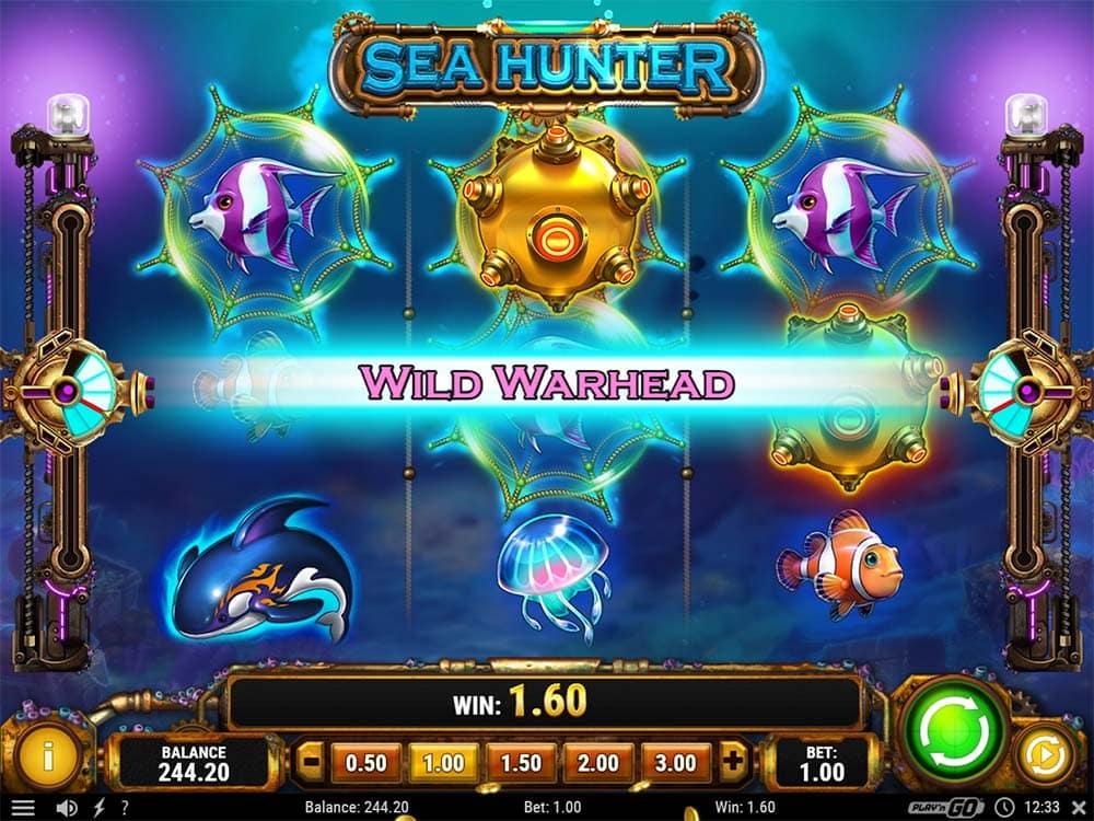 Sea Hunter Slot - Wild Warhead Feature