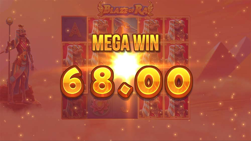 Blaze of Ra Slot - Mega Win