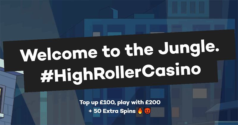Highroller Casino Welcome Bonuses