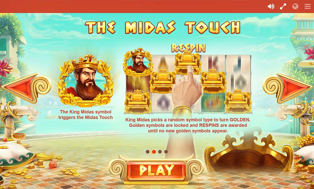 Midas Gold Slot - Midas Touch Explanation