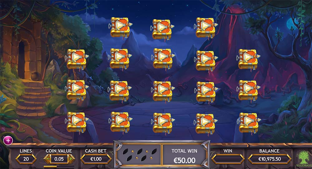 Ozwin's Jackpots Slot - Picking Round