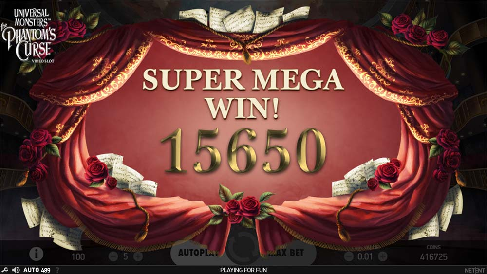 Phantom's Curse Slot - Super Mega Win