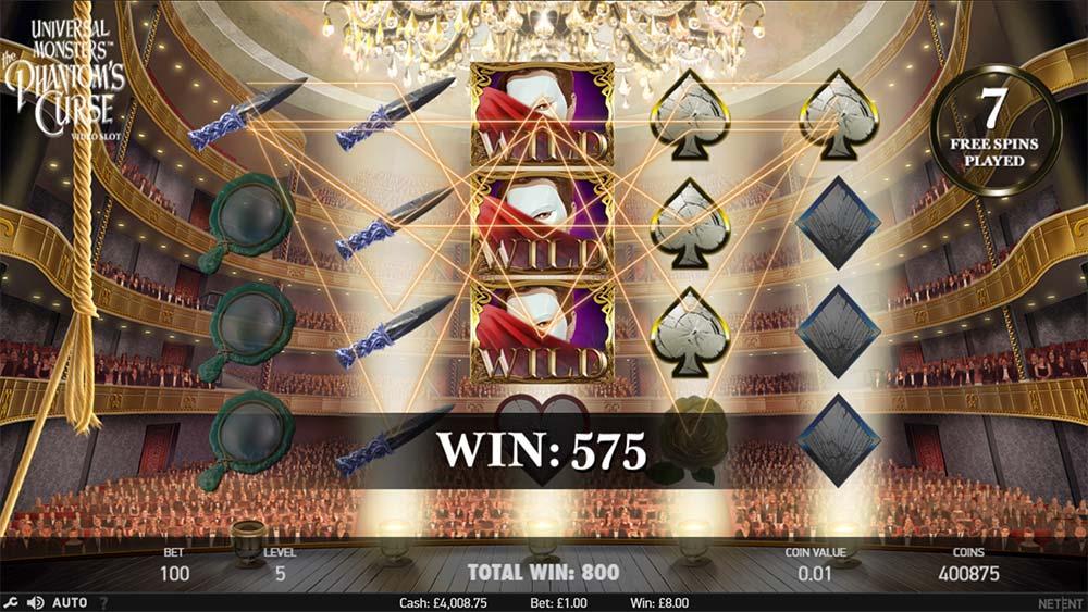 Phantom's Curse Slot - Free Spins