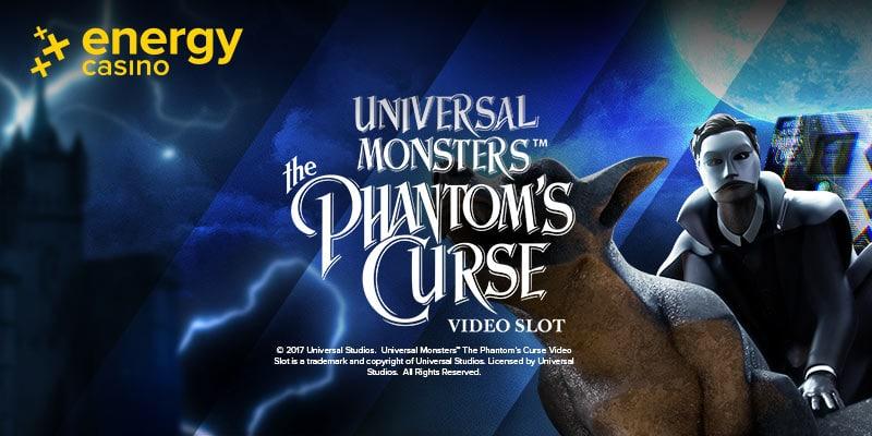 Phantom's Curse Slot Logo - Energy Casino