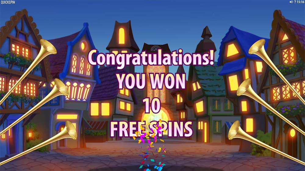 Pied Piper Slot - Free Spins Start