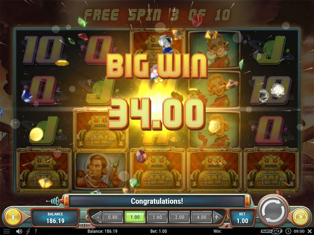 Planet Fortune Slot - Big Win