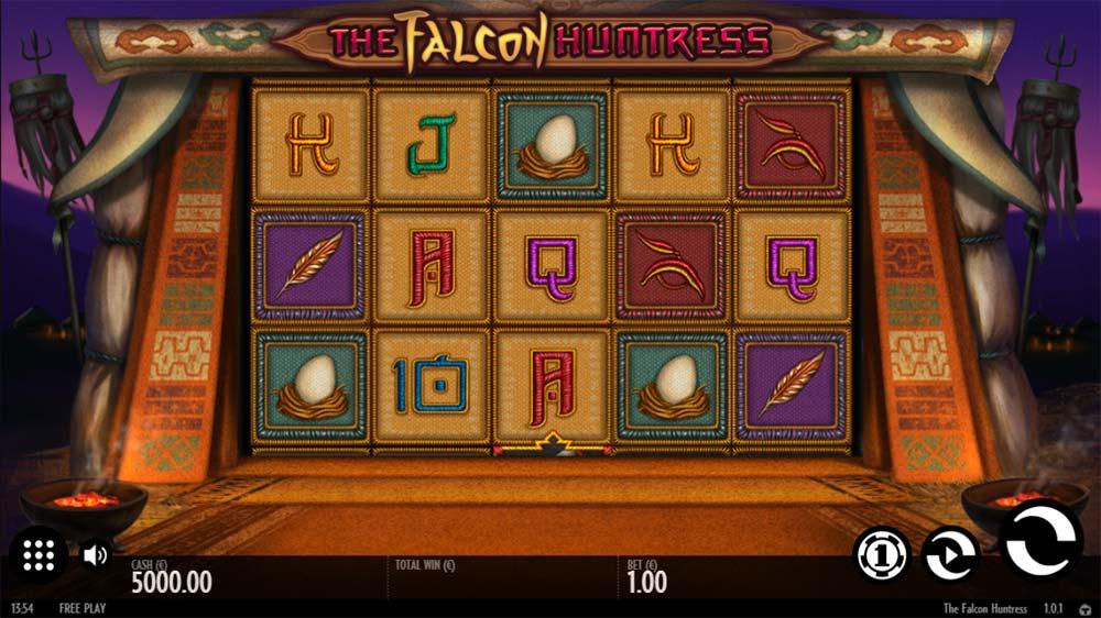 The Falcon Huntress Slot - Base Game