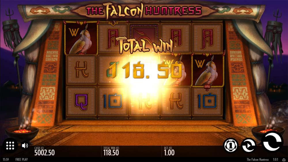 The Falcon Huntress Slot - Bonus End