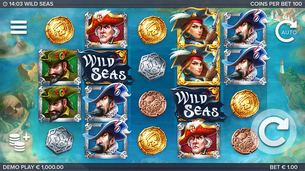 Wild Seas Slot - Base Game