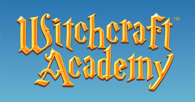 Witchcraft Academy Slot Logo