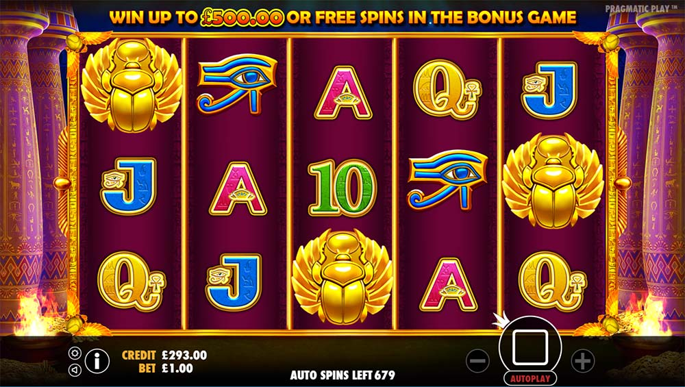 Ancient Egypt Slot - Free Spins Trigger