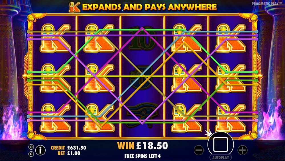 Ancient Egypt Slot - Free Spins With Expanding Symbols