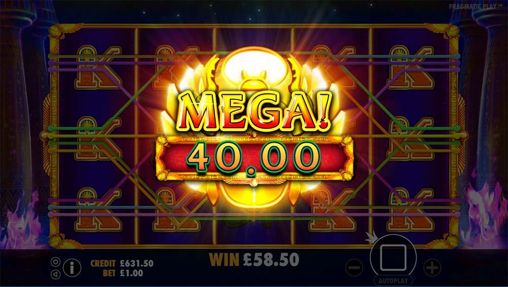 Ancient Egypt Slot - Mega Win