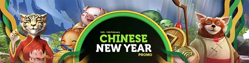 CasinoLuck Chinese New Year Promotions