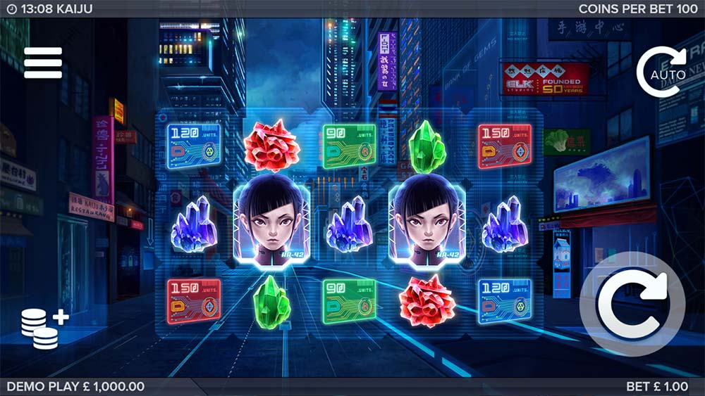 Kaiju Slot - Base Game