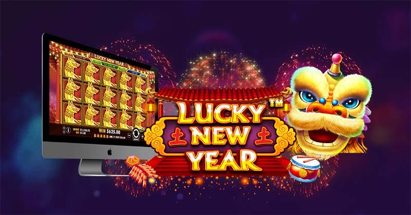 Lucky New Year Slot Logo