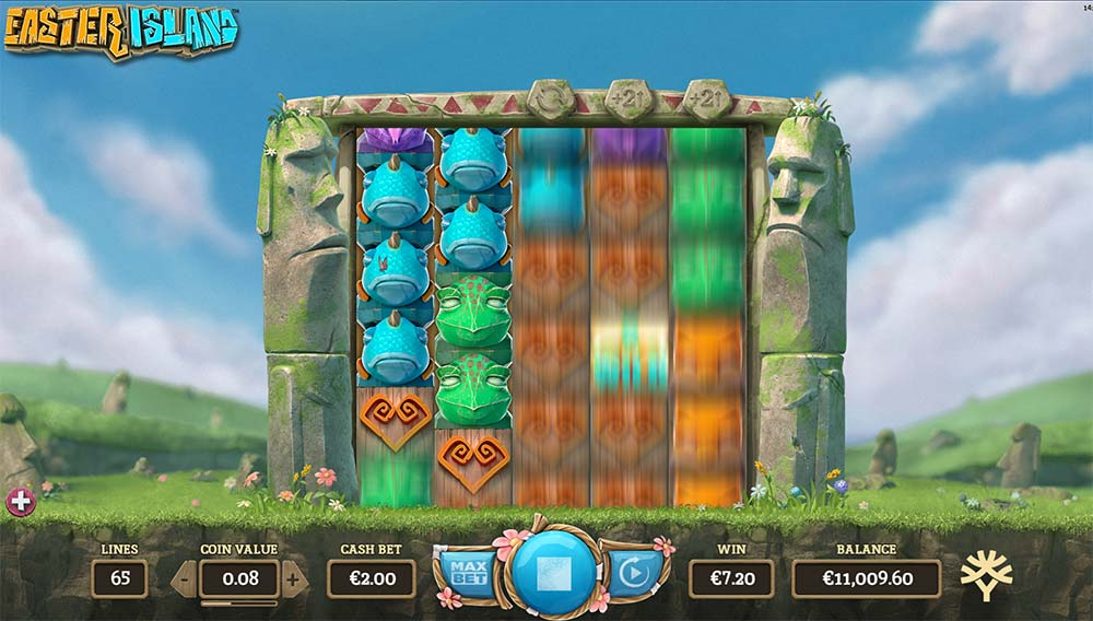 Easter Island Slot - Expanded Reels