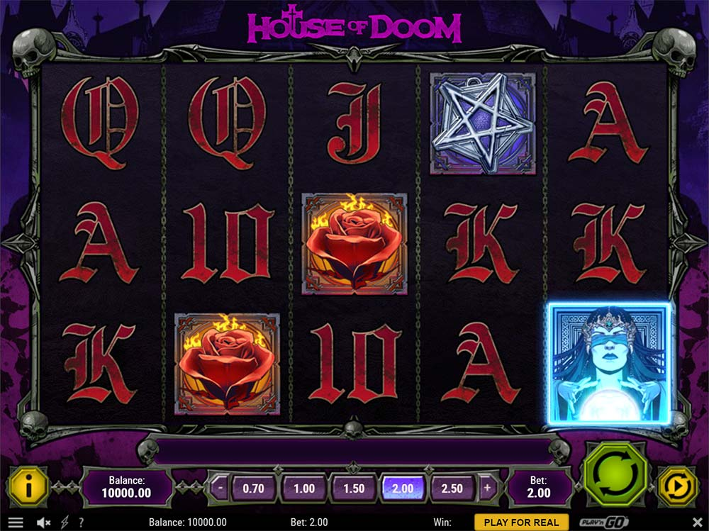 House of Doom Slot - Base Game