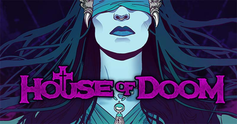 House of Doom Slot Logo