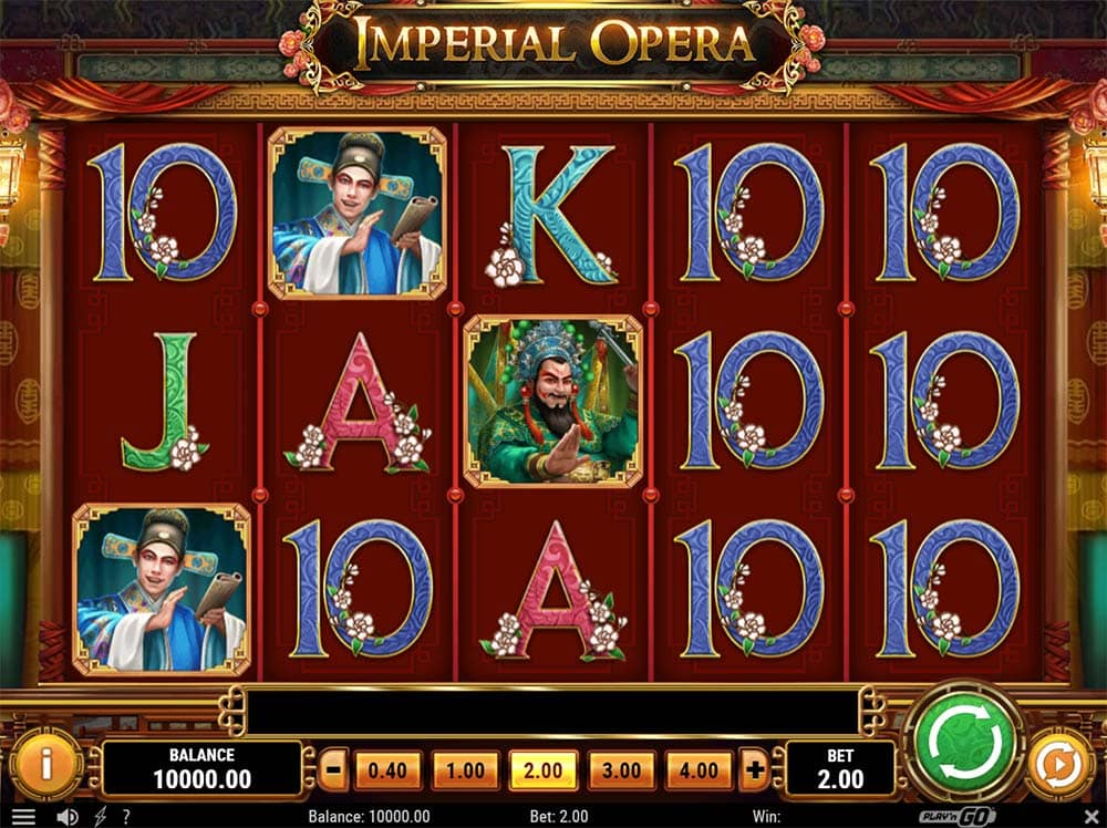 Imperial Opera Slot - Base Game